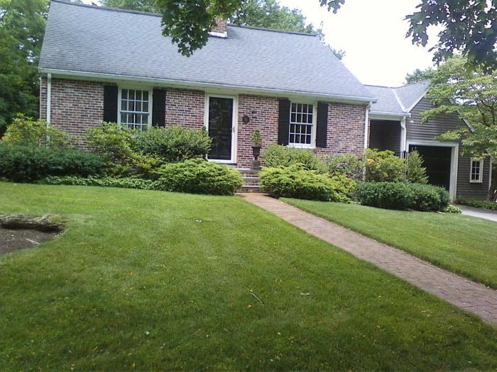 Pearl's Premium Lawn, Newton (MA), Installed by Newton Organics