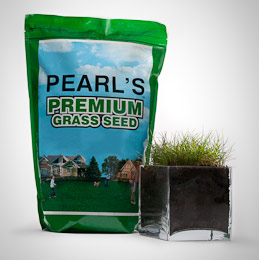 Pearl's Premium Ultra Low Maintenance Lawn Seed, Shady Mixture